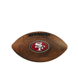 Bola de Futebol Americano NFL Throwback San Francisco 49ers