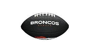 Bola de Futebol Americano NFL Black Denver Broncos