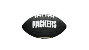 Bola de Futebol Americano NFL Black Green Bay Packers