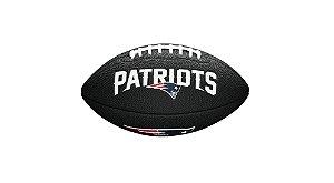 Bola de Futebol Americano NFL Black New England Patrios