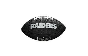 Bola de Futebol Americano NFL Black Oakland Raiders
