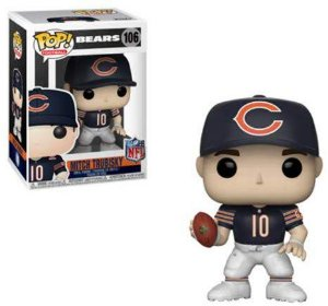Funko POP! NFL - Mitch Trubisky #106 - Chicago Bears