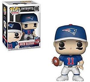 Funko POP! NFL - Drew Blesoe #115 - New England Patriots