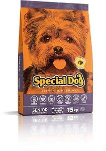 SPECIAL DOG ADULTO SENIOR RAÇAS PEQUENA 15 Kg
