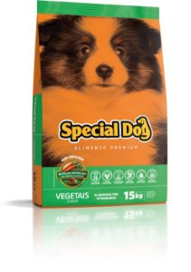 SPECIAL DOG JUNIOR VEGETAIS 15 Kg