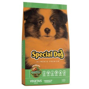 SPECIAL DOG JUNIOR VEGETAIS 20 Kg