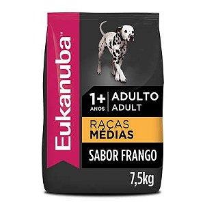EUKANUBA RAÇAS MEDIAS ADULTO 7.5KG