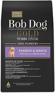 BOB DOG GOLD FRANGO E ARROZ  FILHOTES 3 Kg