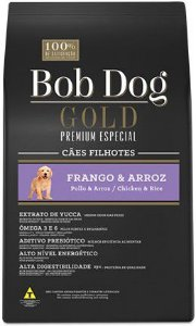 BOB DOG GOLD FRANGO E ARROZ FILHOTE 15 KG