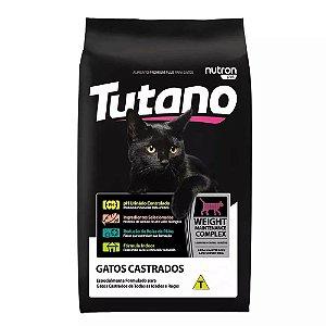 TUTANO GATOS CASTRADO SALMÃO 10 Kg