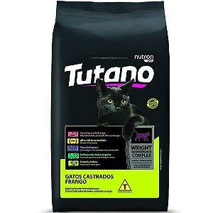 TUTANO GATOS CASTRADO FRANGO 10 Kg