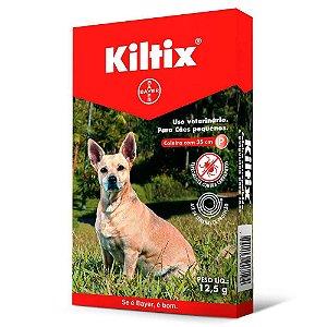 Coleira Kiltix (P) Contra Carrapato Cães Até 8 kg - Bayer