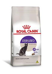 Ração Royal Canin Sterilised para Gatos Adultos Castrados 1,Kg