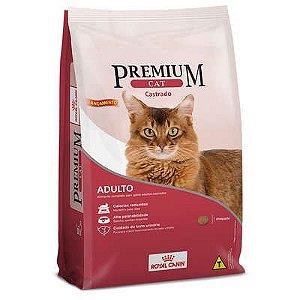 Ração Royal Canin Premium Cat para Gatos Adultos Castrados 10 Kg