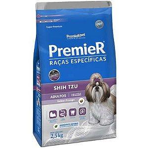 Ração Premier Pet Raças Específicas Shih Tzu Adulto 2,5 Kg
