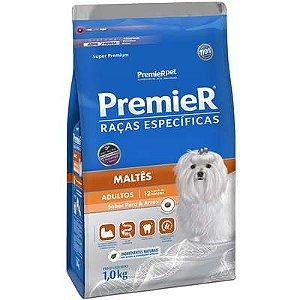 Ração Premier Pet Raças Específicas Maltês Adulto 1 Kg