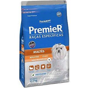 Ração Premier Pet Raças Específicas Maltês Adulto 2,5 Kg