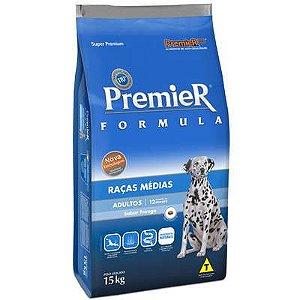 Ração Premier Pet Formula Frango Cães Adultos Raças Médias 15 KG