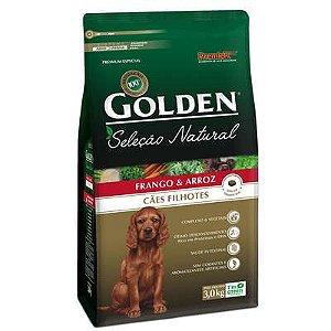 Ração Golden Premier Pet Seleção Natural para Cães filhotes 3 Kg