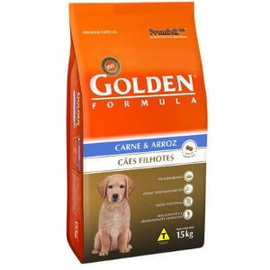 Ração Premier Golden Formula Cães Filhotes Carne e Arroz todas as raças 15Kg