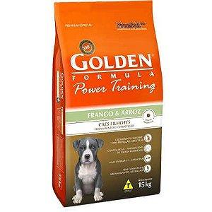 Ração Premier Golden Power Training Cães Filhotes Frango e Arroz - 15 Kg