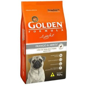 Ração Premier Golden Formula Cães Adultos Light Mini Bits Frango e Arroz 10 Kg