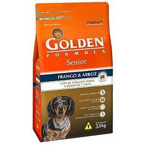 Ração Premier Golden Formula Cães Sênior Mini Bits Frango e Arroz 3 Kg