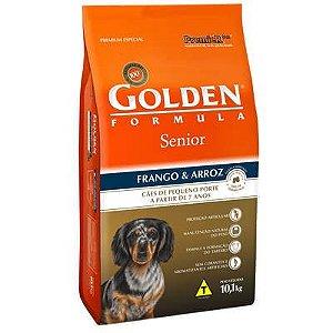 Ração Premier Golden Formula Cães Sênior Mini Bits Frango e Arroz 10 Kg