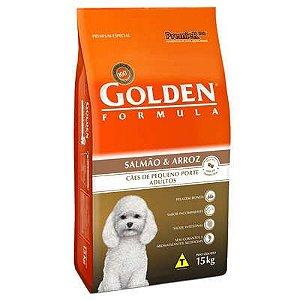 Ração Premier Golden Formula Mini Bits Salmão e Arroz para Cães Adultos de Raças Pequenas 15 kg
