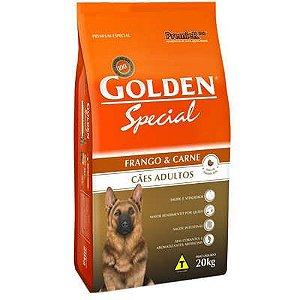 Ração Premier Golden Special Cães Adultos Frango e Carne 15 kg