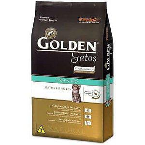 Ração Golden Gatos Filhotes Frango 3 kg