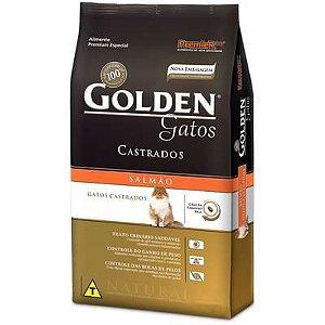 Ração Golden Gatos Adultos Castrados Salmão 3 kg