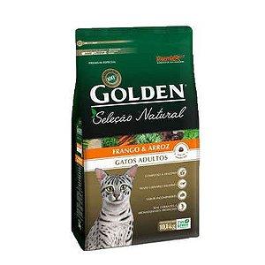 Ração Golden Premier Pet Seleção Natural para Gatos Adultos Frango e Arroz 10 kg