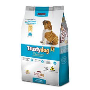 RAÇÃO TRUSTY DOG PREM/FILH/TODAS RACAS 15KG