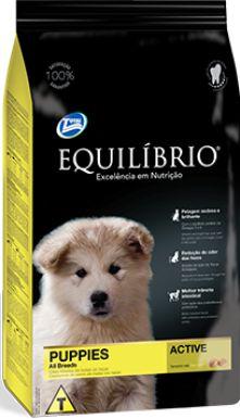 Equilibrio Cães FILHOTES Raças Médias 15 kg