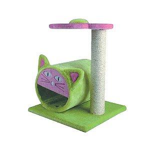 Arranhador chalesco para gatos LUX