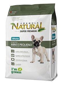 Fórmula Natural Super Premium Cães Filhotes Portes Mini e Pequeno1 kg