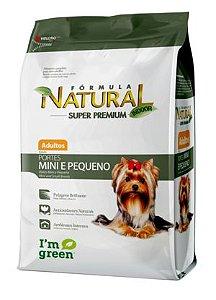 Fórmula Natural Super Premium Cães Adultos Portes Mini e Pequeno 7.5 kg