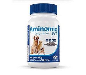 Aminomix Pet Comprimidos Construção estratégica de campeões 180 g 120 comp.