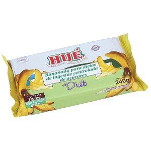 Bananada Diet Hué (Sem Adição de Açúcares) Vegano Sem Glúten Sem Lactose Tablete 240g