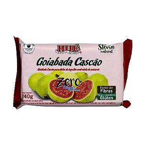 Goiabada Cascão Diet Hué (Sem Adição de Açúcares) Vegano Sem Glúten Sem Lactose Tablete 240g