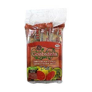 Goiabadinha Diet Hué (Sem Adição de Açúcares) Vegano Sem Glúten Sem Lactose 117g (com 3 unidades de 39g)