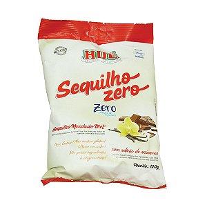 Sequilho Mesclado (Chocolate / Baunilha) Zero Hué (Sem Adição de Açúcares) Vegano Sem Glúten Sem Lactose 120g