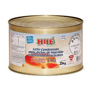 Leite Condensado Diet Hué (Sem Adição de Açúcares) Sem Glúten Lata 2,0 KG