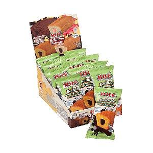 Display Bolinho de Cenoura recheado com Chocolate Hué Zero(Sem Adição de Açúcares) 480g (com 12 Unidades de 40g)