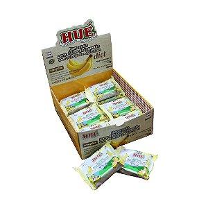 Display Bananada Diet Hué (Sem Adição de Açúcares) Vegano Sem Glúten Sem Lactose 600g (com 24 Tabletinhos de 25g)