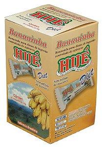 Display Bananinha Diet Hué (Sem Adição de Açúcares) Vegano  Sem Glúten  Sem Lactose 1004g (com 36 Tabletinhos de 39g)