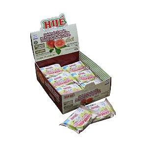Display Goiabada Cascão Diet Hué (Sem Adição de Açúcares) Vegano Sem Glúten Sem Lactose 600g (com 24 Tabletinhos de 25g)