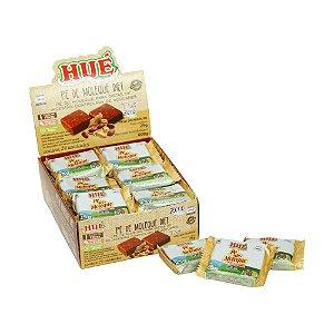 Display Pé de Moleque Diet Hué (Sem Adição de Açúcares) Vegano Sem Glúten Sem Lactose 600g (com 24 Tabletinhos de 25g)