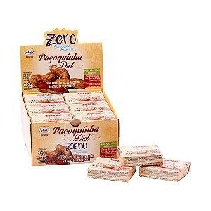 Display Paçoquinha Zero Hué (Sem Adição de Açúcares) Sem Glúten 600g (com 24 Tabletinhos de 25g)